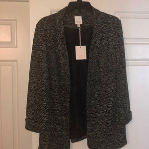 Lauren Conrad open front blazer